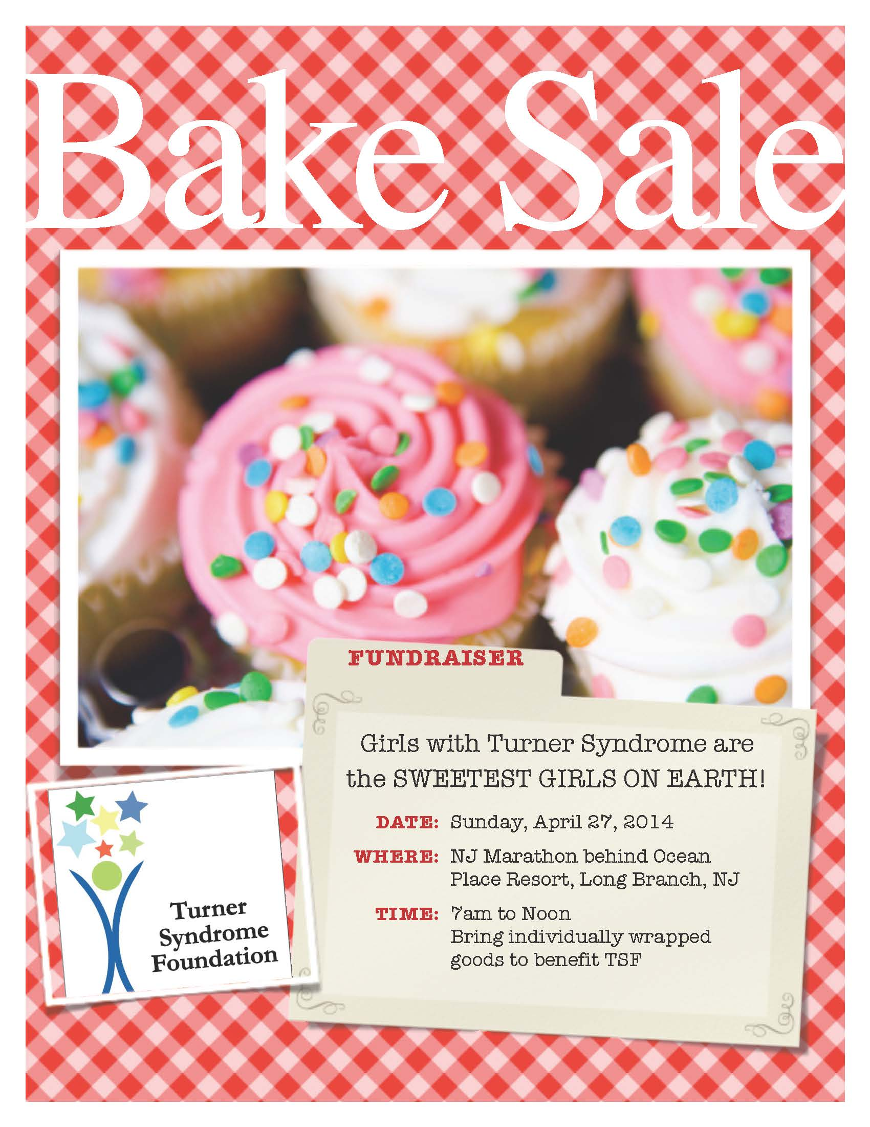 Bakesale Flyer