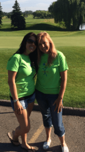 volunteers at golf outing for turner syndrome