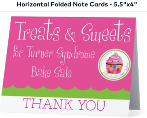 Treats Thanks You Cards