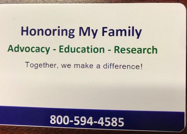 Awareness Contact Card