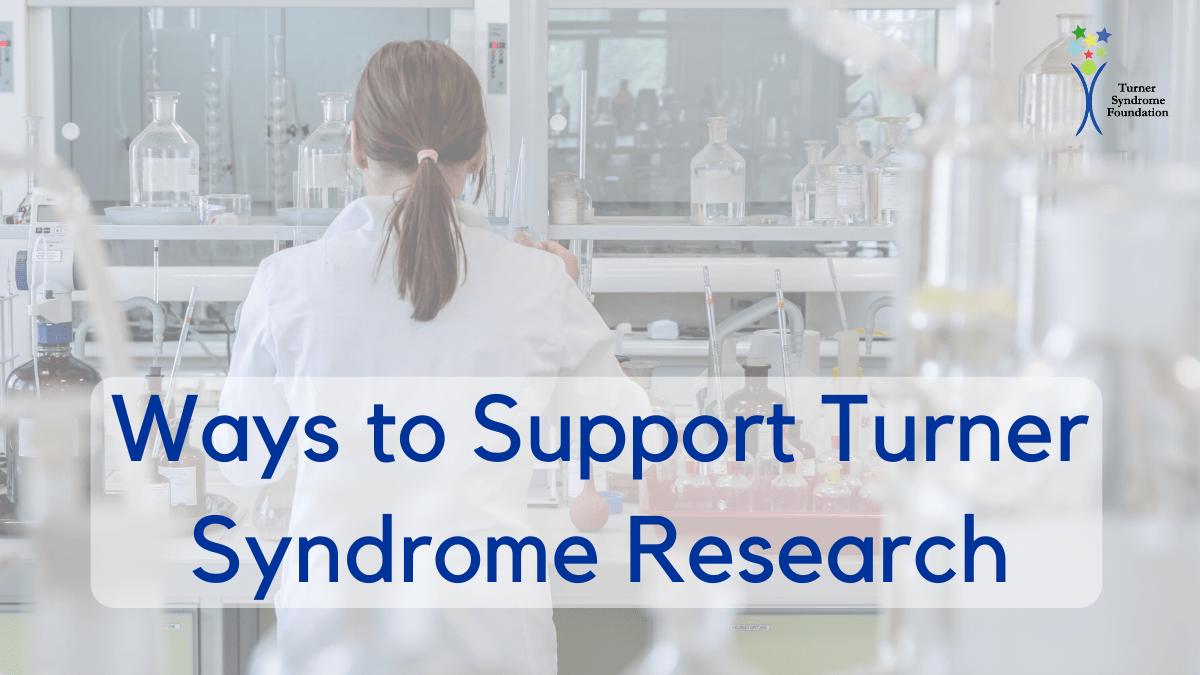Ways to support turner syndrome research
