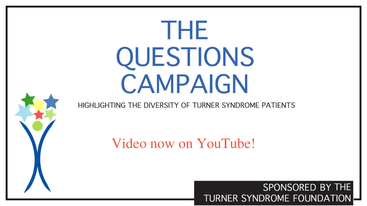 Turner syndrome video campaign