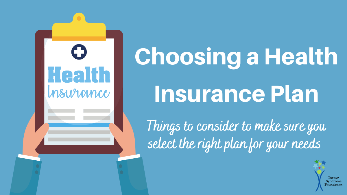 Choosing a health insurance plan