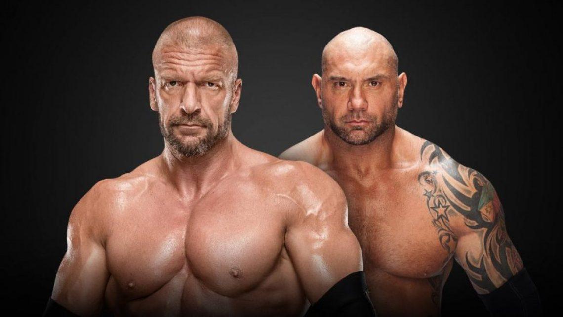 Primeras apuestas para el Triple H vs Batista de cara a Wrestlemania 35