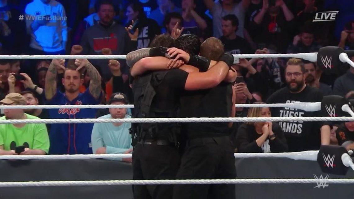 The Shield regresa con victoria en WWE Fastlane