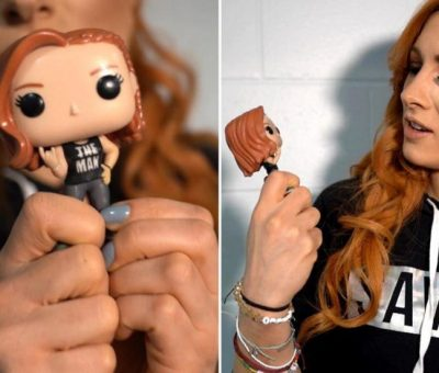 Funko Pop de Becky Lynch que está arrasando en ventas anticipadas de Amazon.