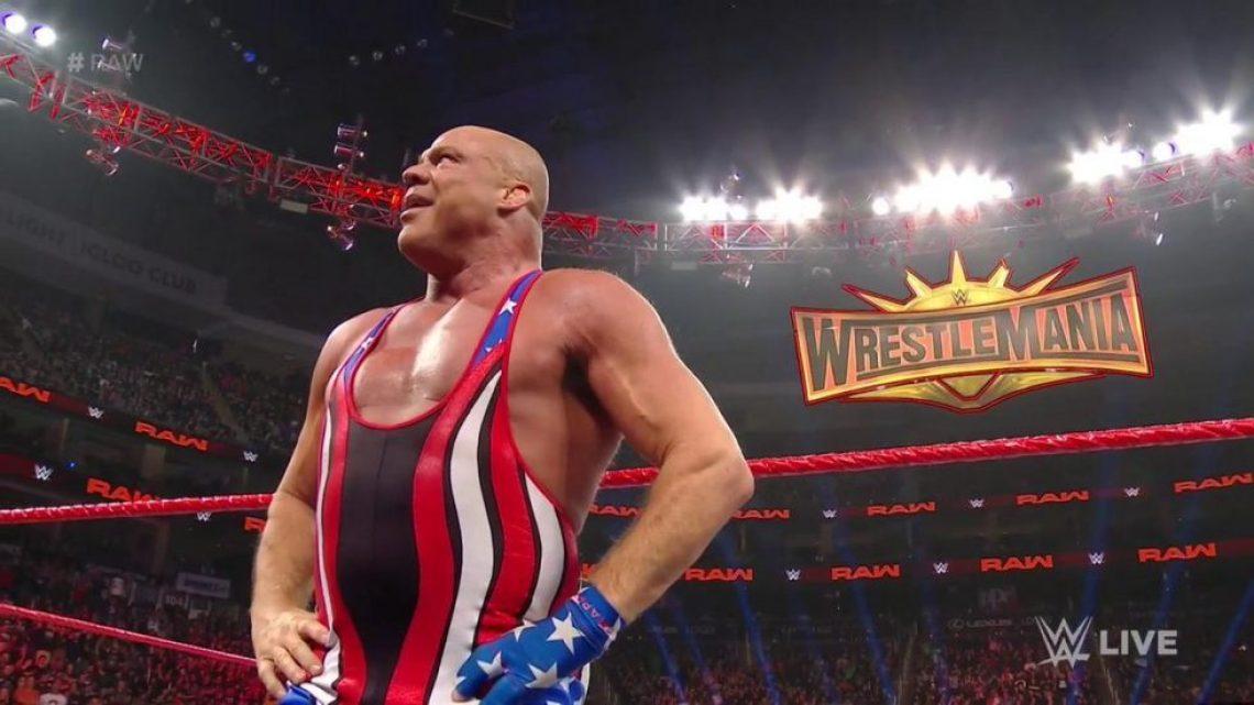 Kurt Angle anuncia que en WrestleMania tendrá su último combate