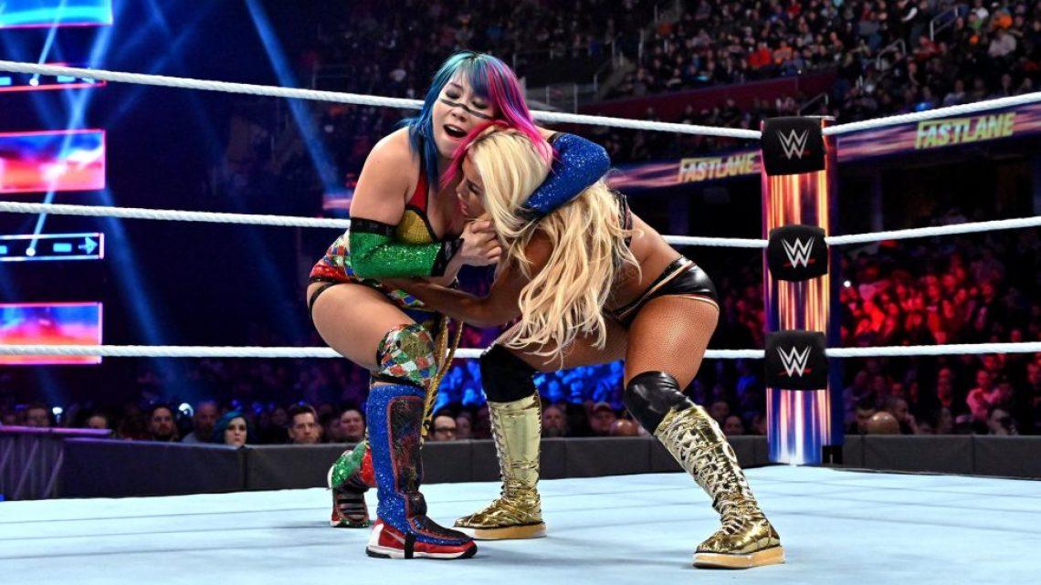 Asuka defiende ante Mandy Rose en WWE Fastlane 2019