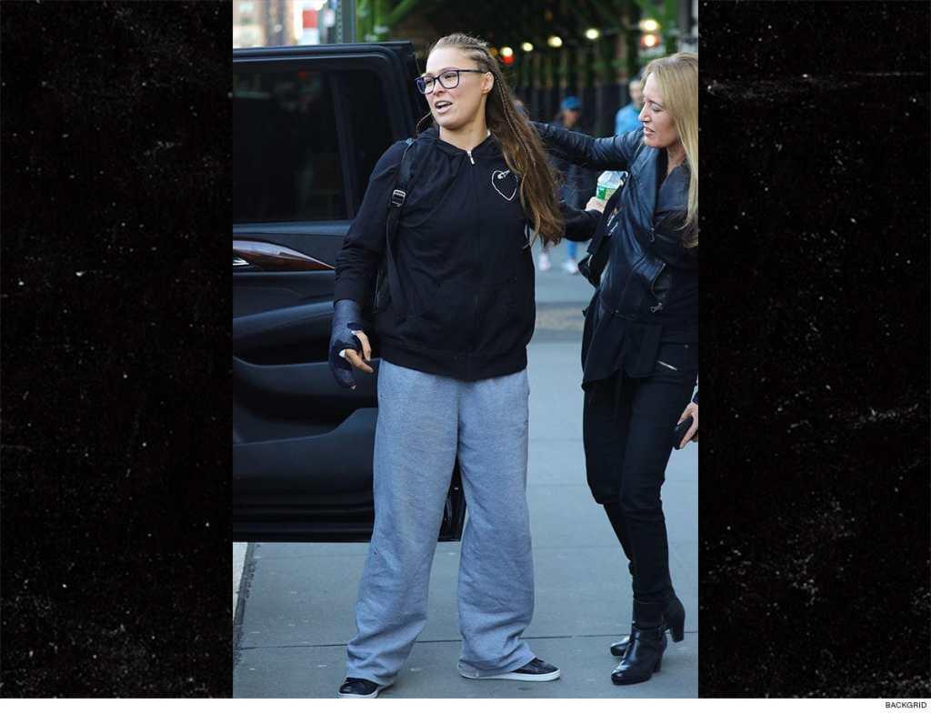 Ronda Rousey ha sido vista tras su operación