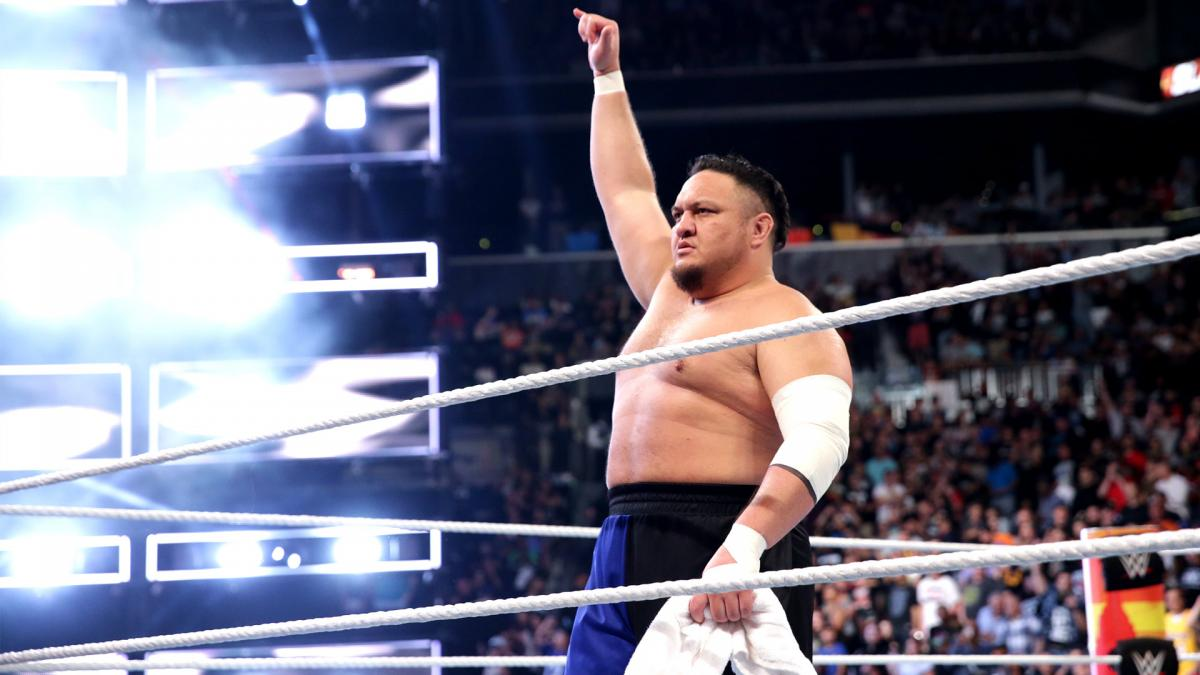 Planes para Samoa Joe en Raw