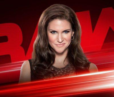 Stephanie McMahon hará un anuncio sobre el Main Event de WrestleMania Audiencia WWE RAW 1 de abril del 2019