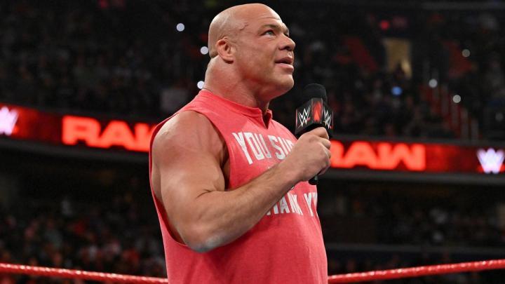 Kurt Angle estaría preparándose para ser productor en WWE