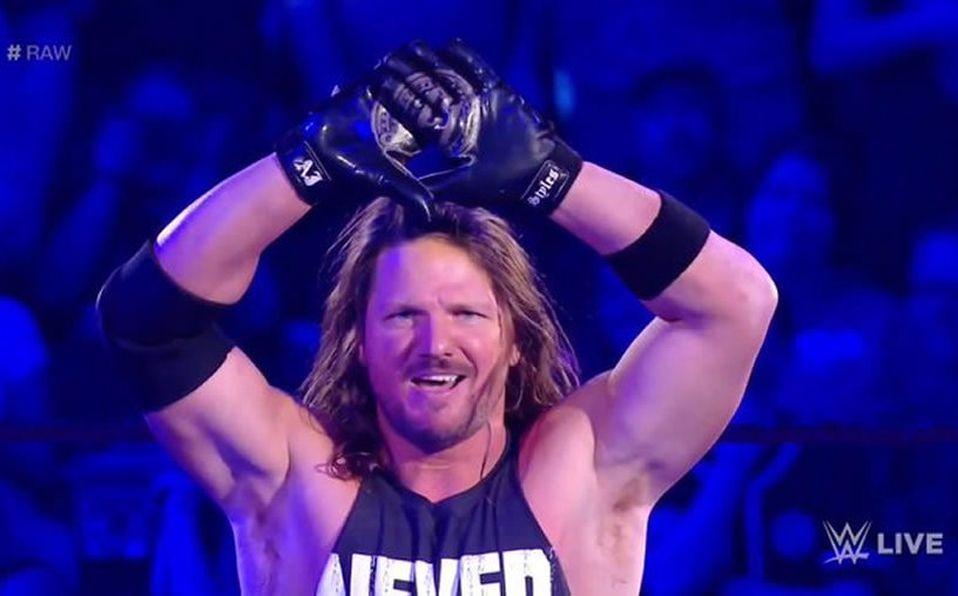 AJ Styles promociones competir