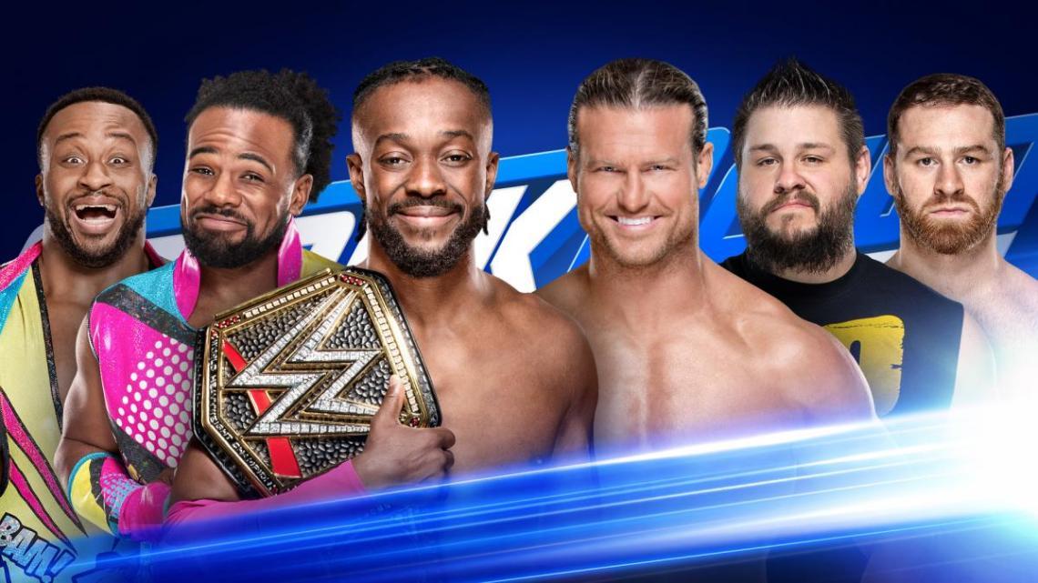 WWE SmackDown: Resultados en directo 11 de junio