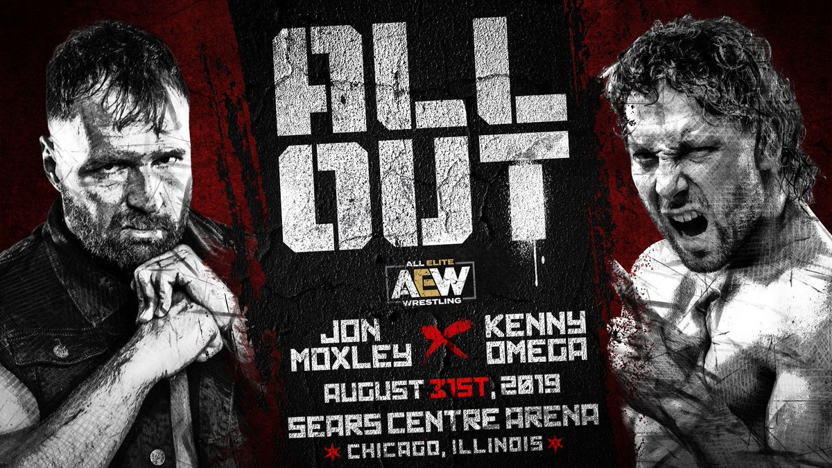 Jon Moxley Kenny Omega All Out