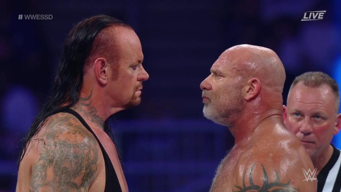Undertaker vence a Goldberg en WWE Super Show-Down