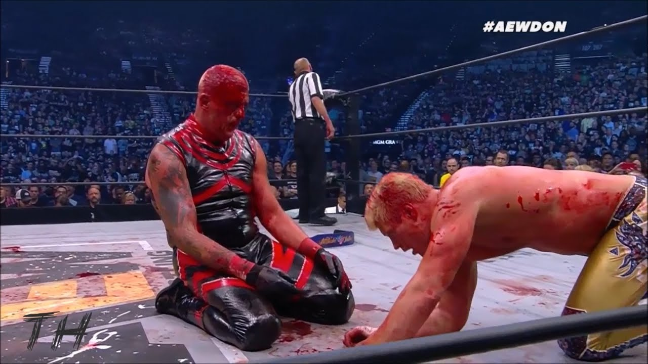 Dustin Rhodes sangre