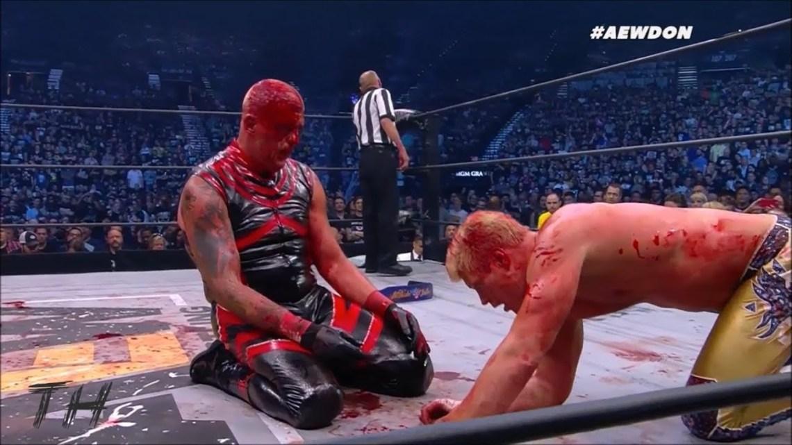 """Dustin Rhodes: """"Me asustó la cantidad de sangre que perdía en Double Or Nothing"""""""