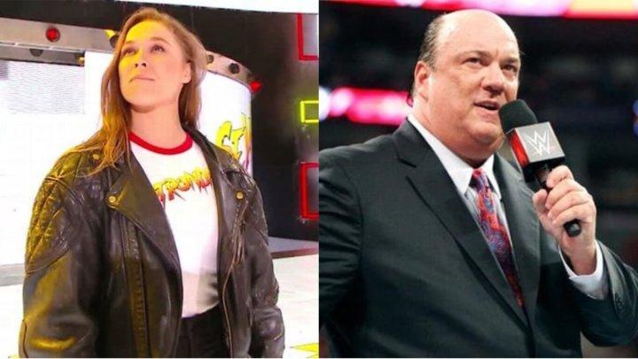 Paul Heyman podría traer a Ronda Rousey de nuevo a WWE
