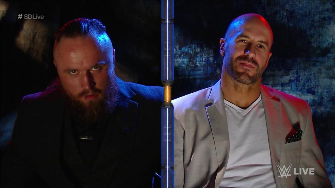 Aleister Black vs Cesaro en Extreme Rules