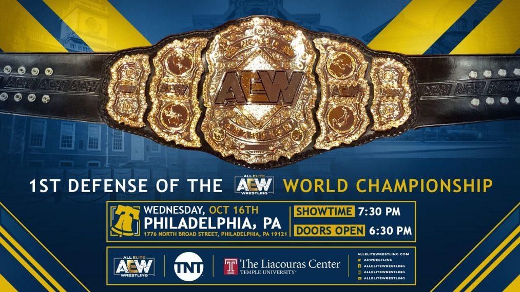 Campeonato Mundial AEW 16 de octubre