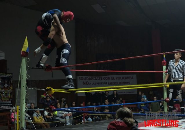 CWS: Wrestling colombiano VS Lucha Libre Mexicana