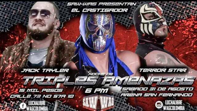 Wrestling Colombiano: SAW-WAG #Yoapoyolaluchalibrenacional
