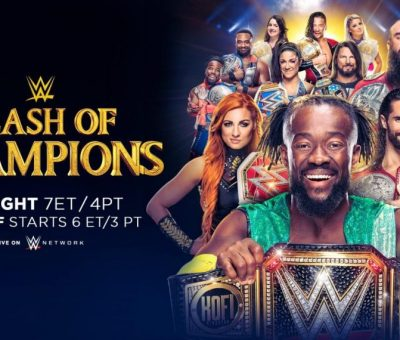 WWE Clash of Champions Resultados