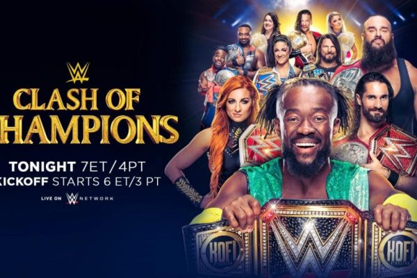 WWE Clash of Champions Resultados