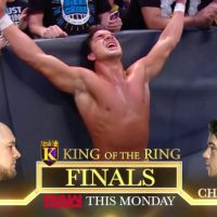 Chad Gable vs. Baron Corbin en la final de King of the Ring 2019