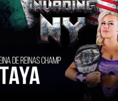 Taya Valkyrie nueva Campeona de Triple A en Invading NY