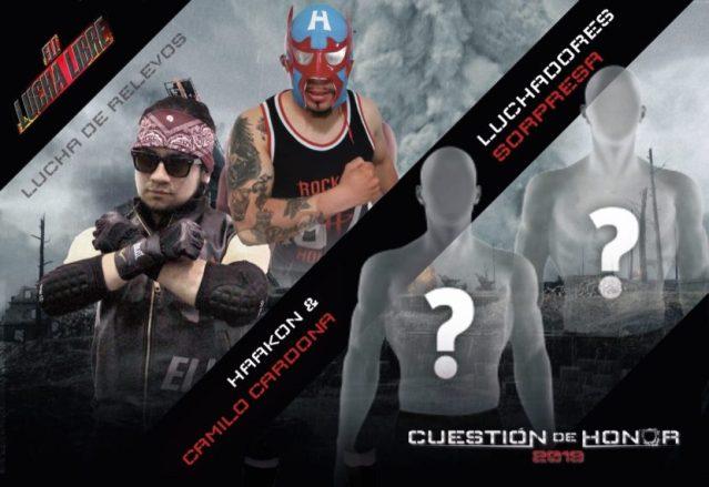 Wrestling Colombiano: Equipos de Lucha Libre (ELL) presenta Cuestión de Honor