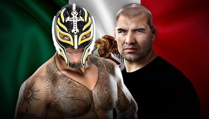 Caín Velasquez y Rey Mysterio formarán equipo en WWE Mexico