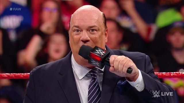 Paul heyman traer luchadores RAW