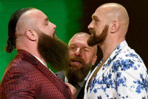 Tyson Fury Triple H WWE