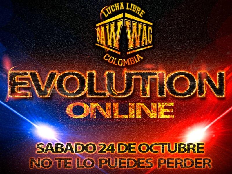 SAW-WAG anuncia el primer PPV de la lucha libre colombiana: EVOLUTION