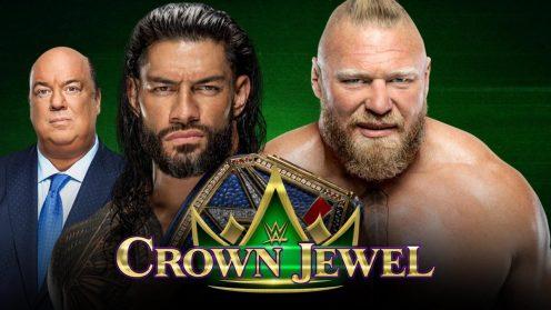 Roman Reigns defenderá el Campeonato Universal ante Brock Lesnar en Crown Jewel 2021