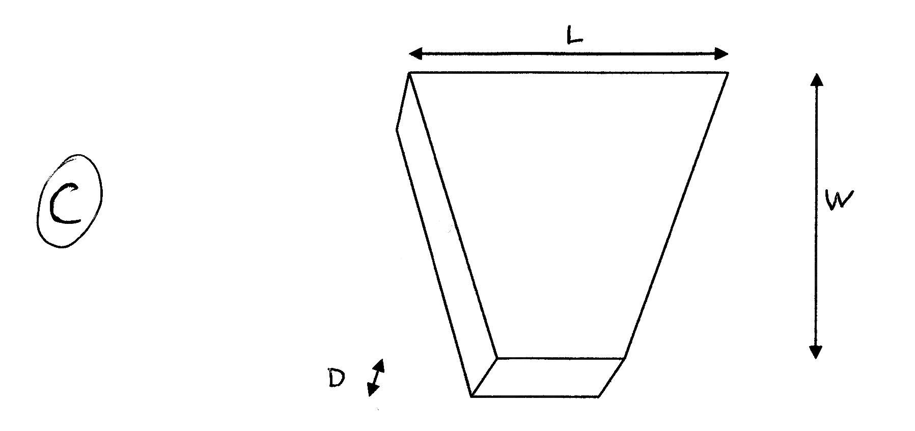 Angle Wood Turning Segment Chart