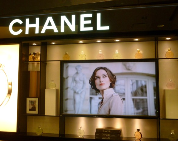 Chanel, featuring Keira Knightley