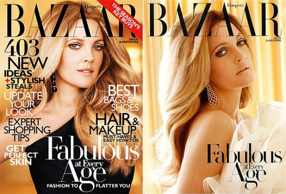 Harper's Bazaar - Fabulous at Every Age with Drew Barrymore