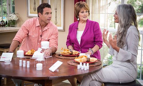 Cindy Joseph - a guest on Hallmark Channel's Home & Family
