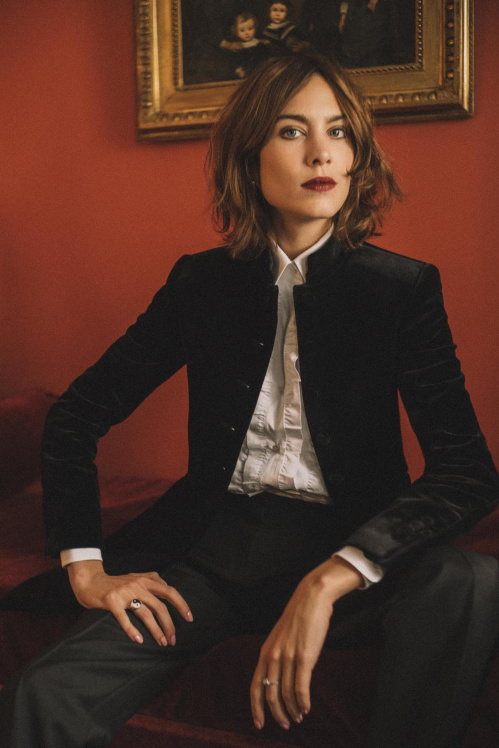 Alexa Chung | Photo: Zackery Michael