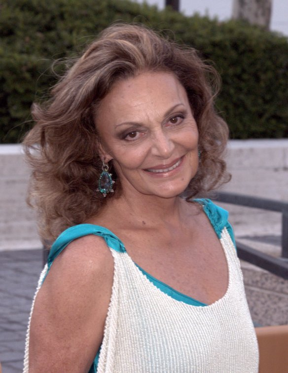 The glorious Diane von Furstenberg