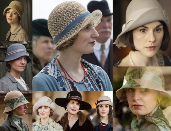 DowntonAbbeyHats