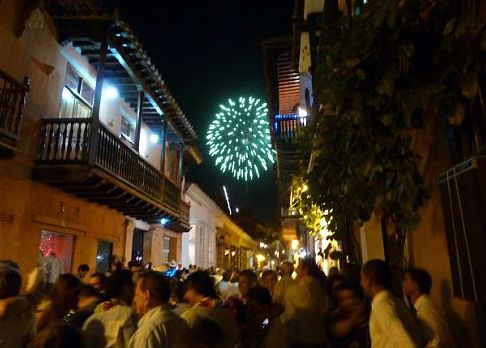 New Year's Eve - Cartagena, Colombia