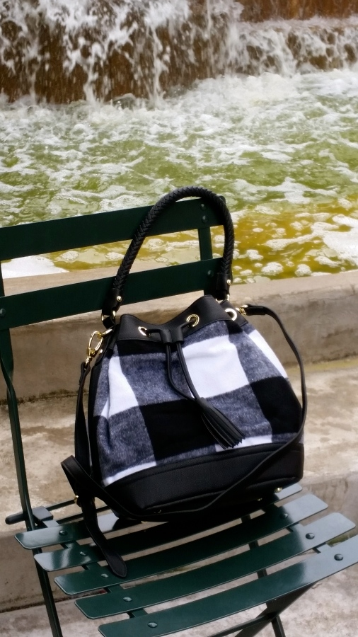 My new bucket bag from the Adam Lippes for Target Collection