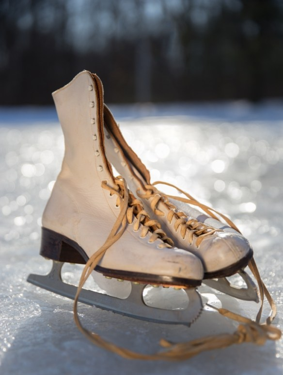 My mother's skates
