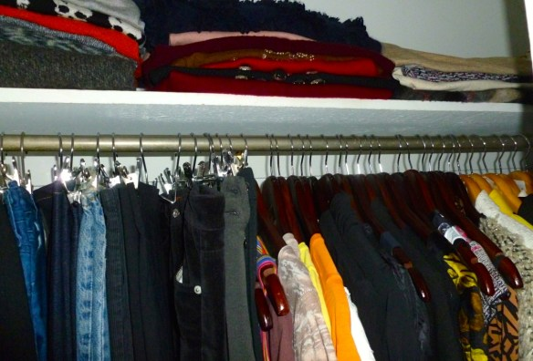 A few years ago I revamped my closet