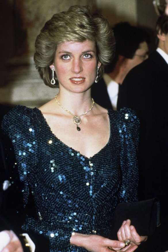 Princess Diana in a Catherine Walker design; Getty Images/