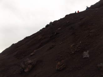 More of Fuji looking like Mars. This was taken on the descent when I was a slightly less angry person.
